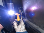 141- TIG/WIG (arc welding with infusible electrode at protection of inert gas)